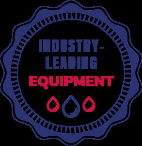 Industry Leading Equipment